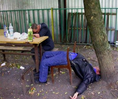 Раздел пьяные